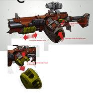 Bandit shotgun concept
