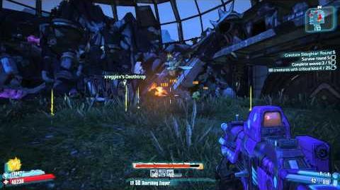 Borderlands 2 - Creature Slaughter Round 5 (feat. Kitten Assault Rifle)