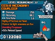 EQ31-B Incendiary Equalizer