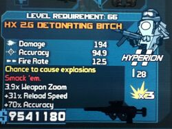 HX 2.G DETONATING BITCH