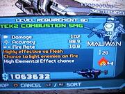 TEK2 Combustion SMG