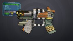 Fry dp hand cannon