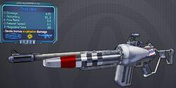 Lance(assault rifle) Thick lvl24