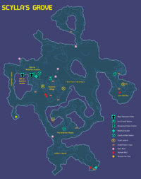 Scylla's Grove Map