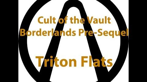 Borderlands Pre Sequel - Cult of the Vault (Triton Flats)