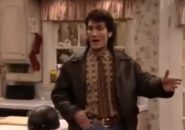 Mr. Turner wearing a leather jacket