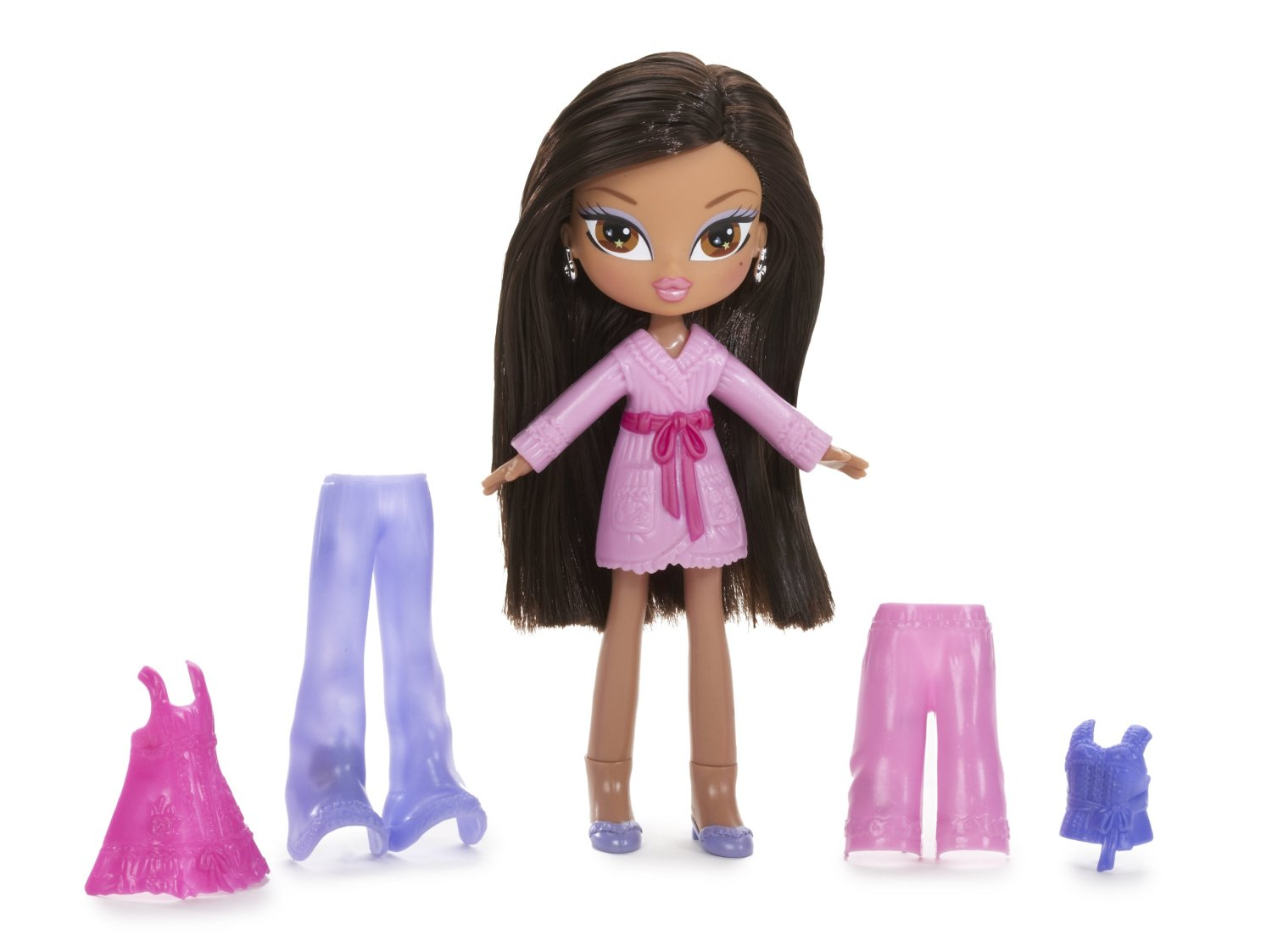 Bratz Kidz Fairy Tales Dolls Bratz Kidz Snap-On Sleepover