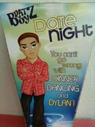 Bratz Boyz Date Night Dylan Back