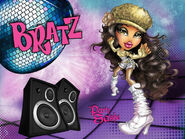 Bratz Party Sasha Wallpaper