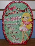 Bratz Sweet Heart Cloe Back