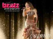 Bratz The Movie Yasmin Singing Wallpaper