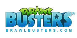 BrawlBusters logo NEW White