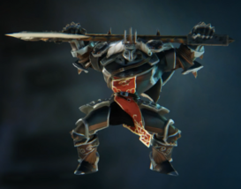 Black Knight taunt 1