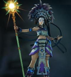 Alona blue skin