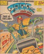 2000 AD prog 374 cover