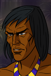 Mayan Tribesman