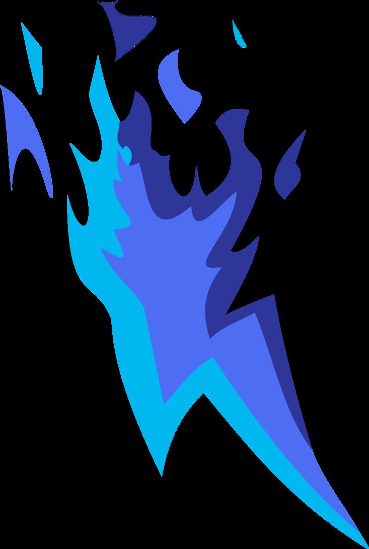 Image Bluefire Cutie Mark Vector By Lonichedgehog