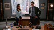 Jake and Sophia desk