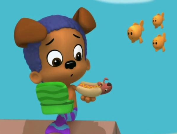 Bubble puppy images bubble guppies wiki fandom for Bubble guppies fish