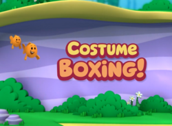 Costume Boxing Title Card