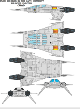 Thunder Fighter Quad by bagera3005