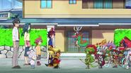 Tenbu & Fifth Omni Cavalry Dragons say goodbye