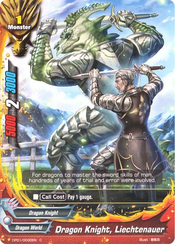 Dragon Knight Liechtenauer Future Card Buddyfight Wiki