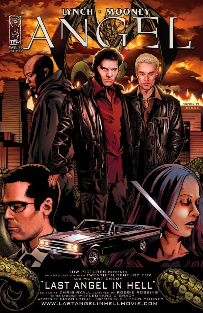 Last Angel in Hell (comic) | Buffyverse Wiki | Fandom ...