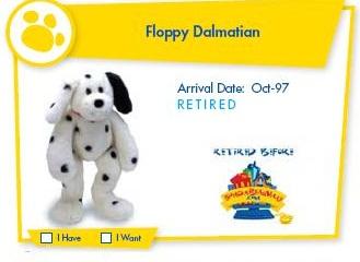 Floppy Dalmation