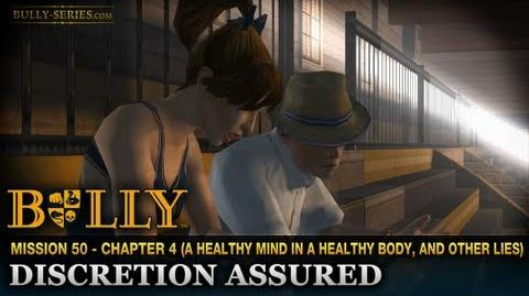 Discretion Assured - Mission 50 - Bully Scholarship Edition
