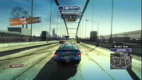 Burnout Paradise - Racing Oval Champ Burning Route