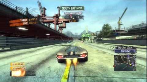 Burnout Paradise - LM Classic Burning Route