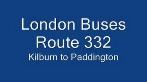 London Buses Route 332