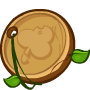 Wooden Lucky Coin