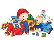 Caillou and Rosie - Younger Models
