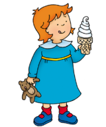 Caillou personajes rosie