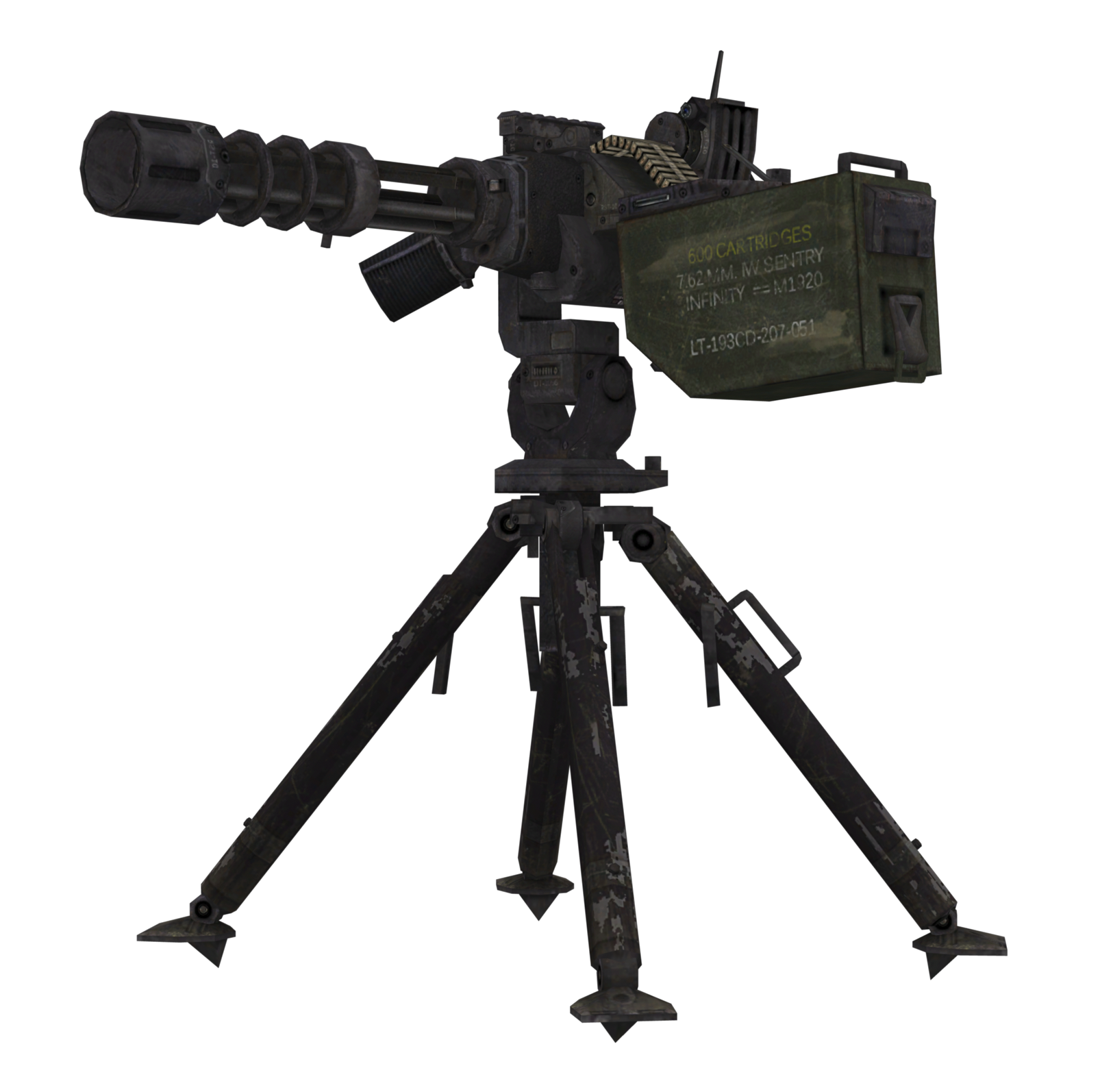 Image - Sentry Gun model MW2.png | Call of Duty Wiki | FANDOM powered by Wikia