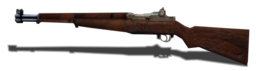 M1 Garand side view BRO