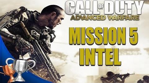 Call of Duty Advanced Warfare - All Intel Locations - Mission 5