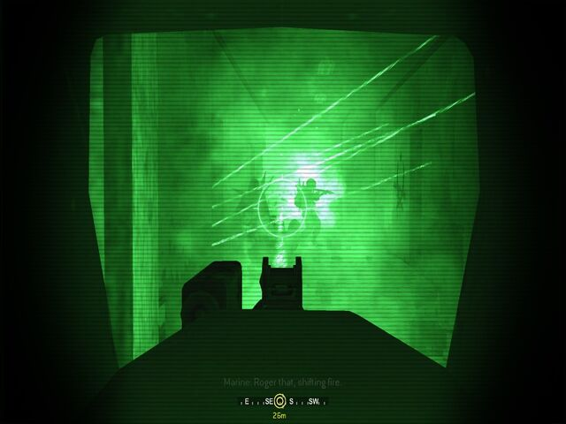 File:Attacking hostiles in hallway The Bog CoD4.jpg