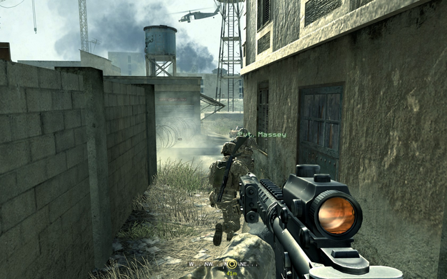 File:Moving towards hideout location Charlie Don't Surf CoD4.png