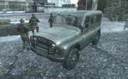 UAZ-469 One Shot, One Kill COD4