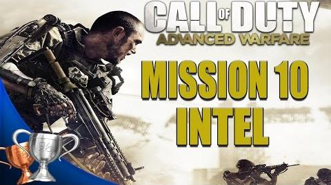Call of Duty Advanced Warfare - All Intel Locations - Mission 10