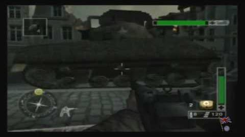 Call of Duty Finest Hour - Western Front, Mission 1 1 2