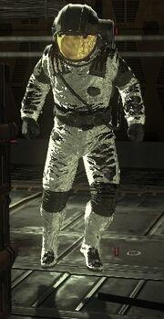 Astronaut Zombie
