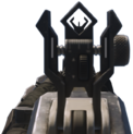 HBRa3 iron sights AW