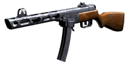 PPSh-41 menu icon WaW