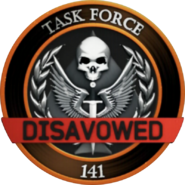 Task Force 141 Disavowed