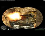 Call of Duty-Waffen SS Elefant tank in the Battle of Kharkov
