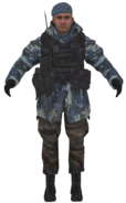 Ultranationalist blue camo model MW2